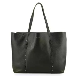 Furla Elle Rock Medium Leather Tote Bag