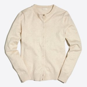 Cotton Caryn cardigan sweater : cardigans & shells | J.Crew Factory