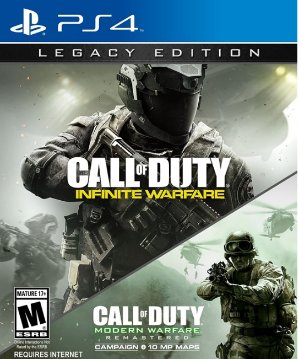 $49.99(原价$79.99)买4送13!Call of Duty: Infinite Warfare - Legacy Edition