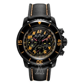 Blancpain Men's Fifty Fathoms Chronographe Flyback Speed Command Watch
