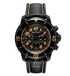 香港16.35万港币!现价$7752(原价$20400)Blancpain 宝珀 Fifty Fathoms 系列男款机械腕表