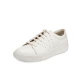Vince Luke Patent Lace-Up Low-Top Sneaker
