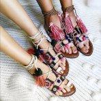$89.9 Sam Edelman 'Gretchen' Embellished Lace-Up Sandal @ Nordstrom