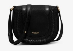 MICHAEL Kors Collection Skorpios Small Leather Crossbody