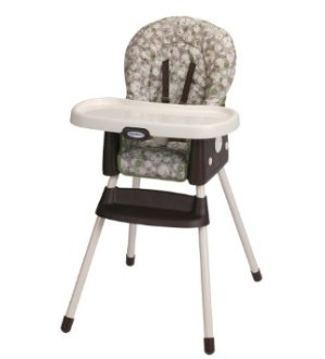 $49.99 Graco Simpleswitch Portable High Chair and Booster, Zuba