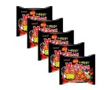SANGYANG Hot Stir-fried Noodle Extremely Spicy Chiken Flavor Ramen 5Pc