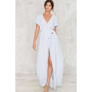 Wrapped Up in It Maxi Dress