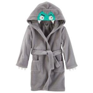 Kid Boy Polar Fleece Monster Robe | OshKosh.com