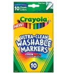 $1.97 Crayola 10 Ct Ultra-Clean Fine Line Washable Markers, Color Max