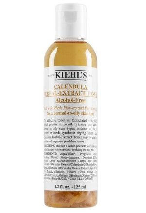 $21+Free 3 Samples Kiehl's Since 1851 Calendula Herbal-Extract Alcohol-Free Toner 4.2OZ @ Nordstrom