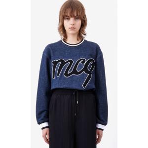 Carpet Embroidery Classic Sweatshirt McQ