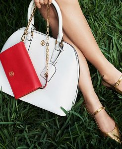 Up to $100 bMoney Gift Card with Tory Burch Handbags and Shoes @ Bloomingdales