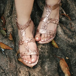 $44.99 Melissa Shoes Campana Barroca Sandal @ 6PM.com