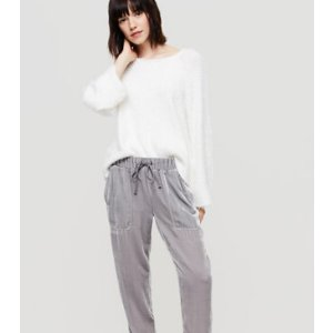 Lou & Grey Velvet Upstate Sweatpants