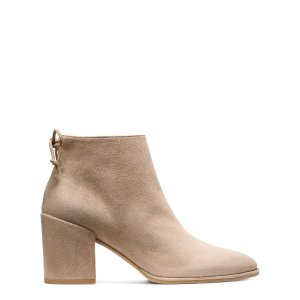 Lofty Block Heel Booties - Shoes | Shop Stuart Weitzman