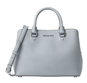 50% off + Extra 20% MICHAEL MICHAEL KORS Savannah Medium Saffiano Leather Satchel