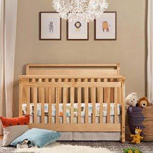 DaVinci Emily 4-in-1 Convertible Crib - Natural - DaVinci - Babies