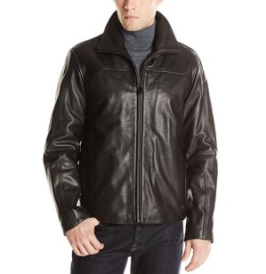 $185.97Calvin Klein Men's Leather Jacket