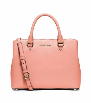 50% Off + Extra 25% Off MICHAEL Michael Kors® Savannah Medium Satchel @ Bon-Ton