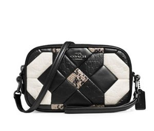 Coach Canyon Quilt Embossed Leather Crossbody Clutch @ Lord & Taylor