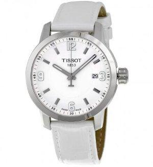 TISSOT PRC 200 Quartz Silver Dial Unisex Watch T0554101601700
