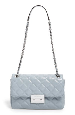Up To 50% Off MICHAEL Michael Kors Dusty Blue Handbags And Wallets Sale @ Nordstrom