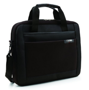 Samsonite Syndicate Laptop Slim Briefcase, Black