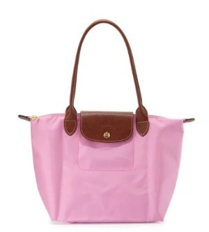 Longchamp Le Pliage Medium Shoulder Tote Bag, Pink @ Neiman Marcus