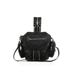 Marti Mini Convertible Nylon & Leather Backpack by Alexander Wang