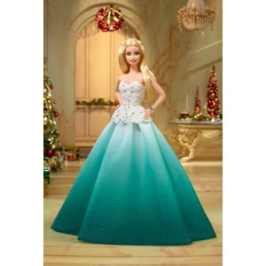 Barbie™ 2016 Holiday Doll - Aqua Gown | DGX98 | Barbie