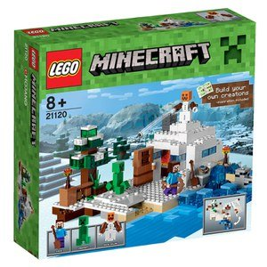 LEGO Minecraft: The Snow Hideout (21120) Toys | TheHut.com