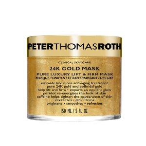 24K Gold Mask | Peter Thomas Roth | b-glowing