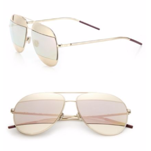 Dior Split1 59MM Metal Aviator Sunglasses