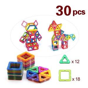 BAA SHOP 30pcs Magnetic Building Blocks Toys