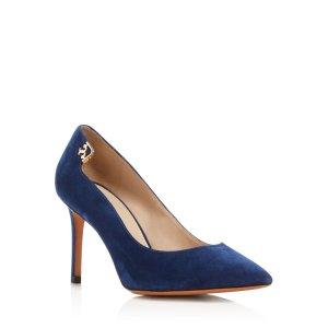 Tory Burch Elizabeth Pointed Toe High Heel Pumps | Bloomingdale's