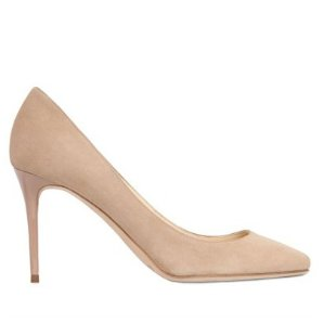 Jimmy Choo  85mm Esme Suede Pumps
