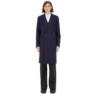 Lanvin D8 Double-Breasted Coat | LN-CC