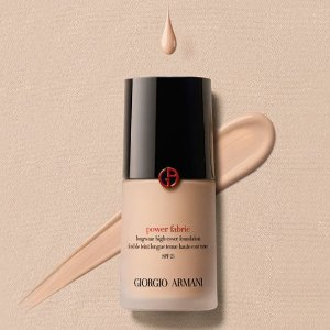 $57.6 (Org. $64)Giorgio Armani Power Fabric Foundation @ Saks Fifth Avenue