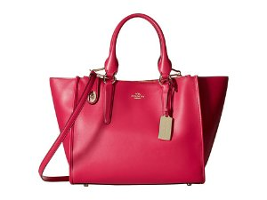 COACH Smooth Leather Crossbody Carryall