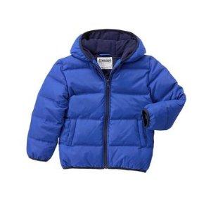 Boys Orbit Blue Puffer Jacket by Gymboree