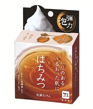 $5.10 Japanese Cow Brand Honey Face Soap 80g @Amazon Japan