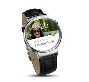$199.99包邮Huawei 华为 智能手表 - 黑色皮革表带
