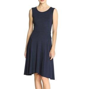 Handkerchief Hem Dress in Navy from Joe Fresh