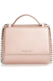 $2290 Givenchy 'Pandora Box' Metallic Leather Minaudiere