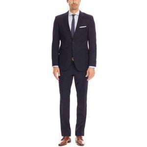 'The James/Sharp'   Regular Fit, Super 120 Italian Virgin Wool Suit