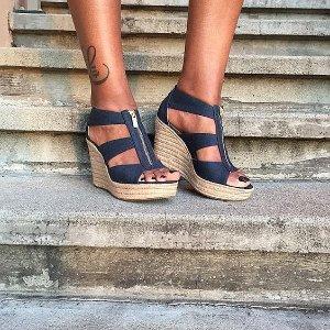 MICHAEL Michael Kors 'Damita' Wedge Sandal Sale @ Nordstrom