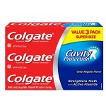 Colgate Cavity Protection Toothpaste, 8 Ounce, 3 Count