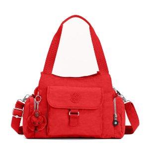 Felix Large Handbag - Cherry   Kipling