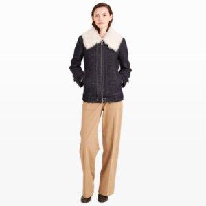 Women | Coats and Trench Coats | Calyanne Shearling Coat | Club Monaco