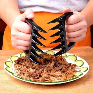 Ankway BBQ Meat Claws, Pulled Pork Shredder Claws, Barbecue Meat Shredding Forks (Pack of 2)